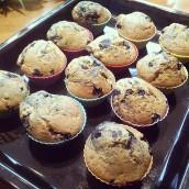 Borůvkovo-jogurtové muffinky